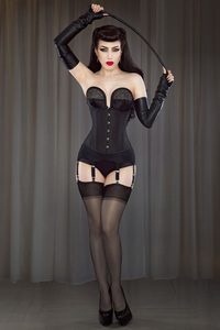 Pinup Taft-Unterbrustkorsett by Bettie Page