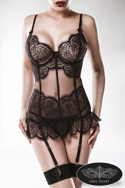 Lingerie Camisole Lace Set by Grey Velvet