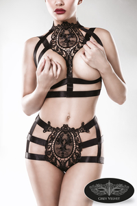 Harness-Set von Grey Velvet - 2-teilig