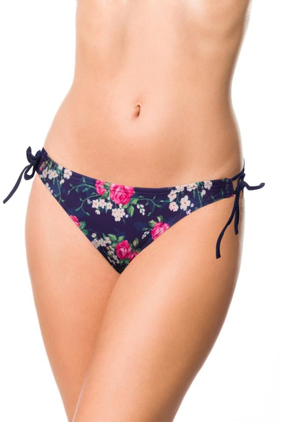 Bikini Panty with Floral Pattern