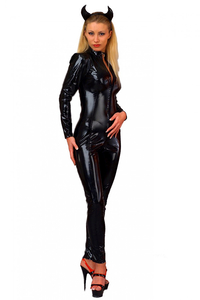 Second Skin PVC Catsuit Longsleeve
