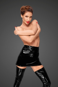 PVC Mini Dress - Decadence by Noir Handmade