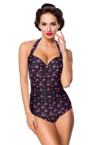 Flamingo Vintage Retro Swimsuit