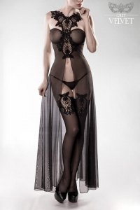 Erotic Lingerie Set with Crochet Lace Details by Grey Velvet
