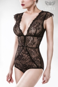 Lace Bodysuit by Grey Velvet