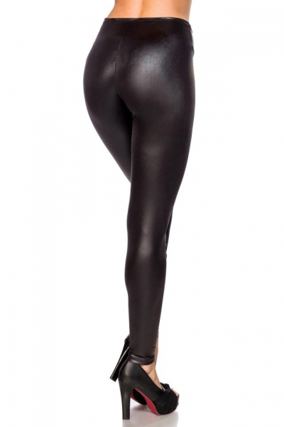 Winter Wetlook Leggings